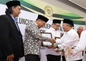 Penerima Alquran Award. Foto: Istimewa (Rhio/Islampos)