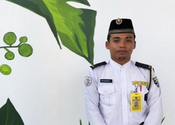 Mohamad Khairul Azhar Mohd Razali, penjaga masjid di Putrajaya, Malaysia. Foto: UPPRE