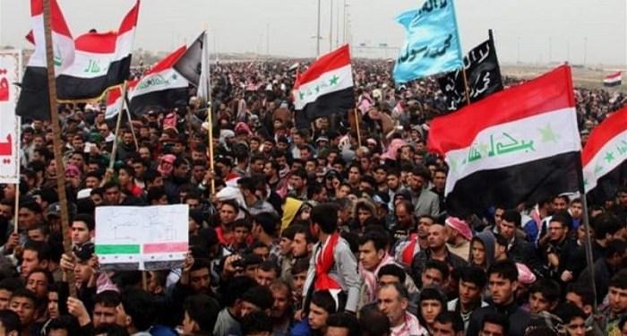 Aksi demonstrasi di Irak tewaskan 104 orang. Foto: Aljazeera