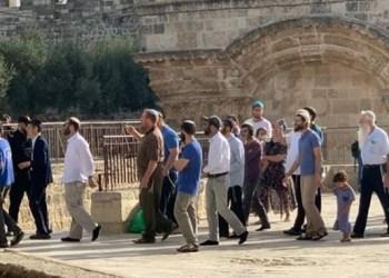 Yahudi serbu al-aqsha. Foto:PIC