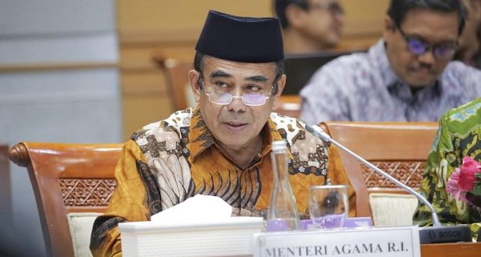 Menteri Agama (Menag) Fachrul Razi. Foto: Rhio/Islampos