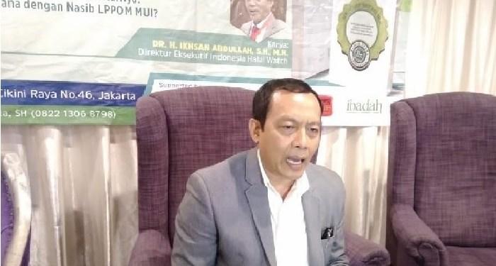 Direktur Eksekutif Indonesia Halal Watch (IHW), Ikhsan Abdullah. Foto: istimewa (Rhio/Islampos)