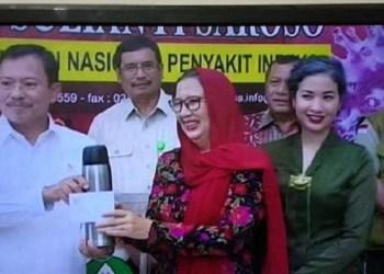 3 Pasien Sembuh Covid-19 Diberi Hadiah Jamu dari Jokowi. Foto: Liputan6