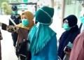 Keluarga pasien virus Corona keluhkan pelayanan buruk RSUD Banten. Foto: Banten news