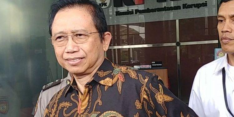Mantan Ketua MPR Marzuki Alie. Foto: Kompas