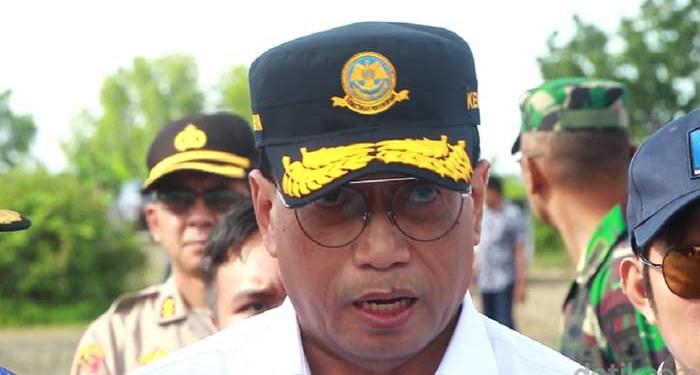 Menteri Perhubungan (Menhub) Budi Karya Sumadi (Hasrul Nawir/detikcom)