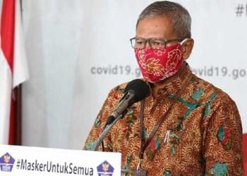 Juru bicara pemerintah terkait penanganan wabah Corona, Achmad Yurianto. Foto: Detik