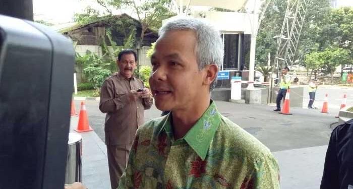 Gubernur Jawa Tengah, Ganjar Pranowo. Foto: Okezone.com