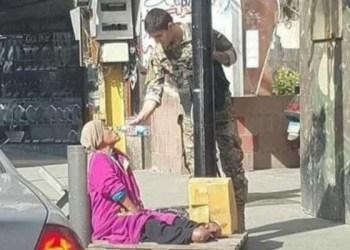 Foto Fatima yang sempat viral di media massa Lebanon.   www.thesun.co.uk