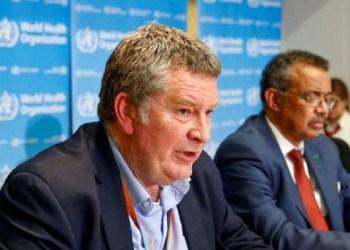 Direktur Kedaruratan WHO, Michael Ryan. Foto: Reuters