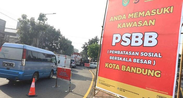 Jabar berencana tak akan perpanjang PSBB karena laju peningkatan Covid-19 menurun. Foto: Ayo Bandung
