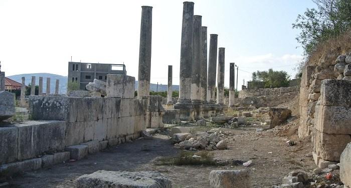 Peninggalan bersejarah di kota Sebastia. Foto: Trip Advisor