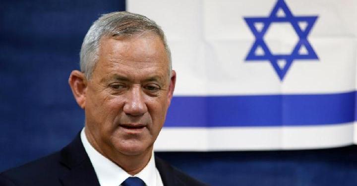 Menteri pertahanan Israel, Benny Gantz. Foto: Reuters
