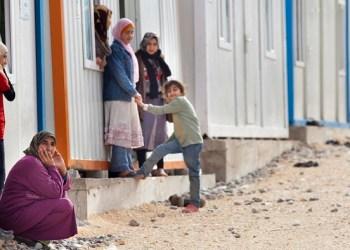 Pengungsi Suriah. Foto: The Humanitarian