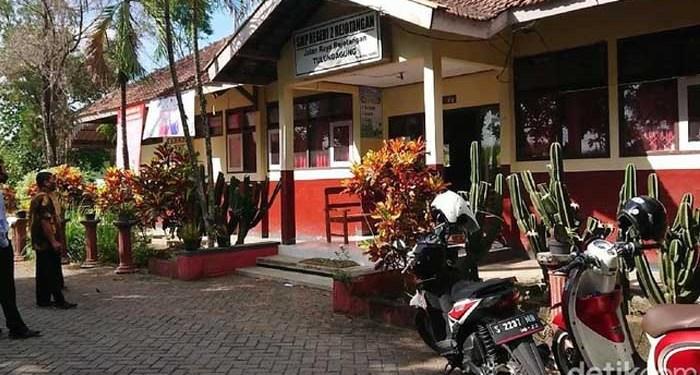SMPN Rejotangan Tulungagung. Foto: Adhar Muttaqien/Detik