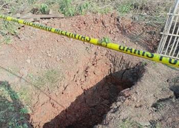 Septic tank tempat ditemukannya jenazah yang hilang di Bekasi. Foto: Okezone