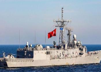 Kapal perang Turki. Foto: Al Ain