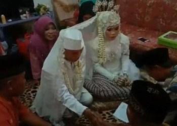 Abah Sarna nikahi ABG 17 tahun di Subang. Foto: iNews