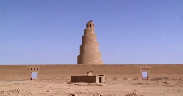 Menara Malwiya, Irak. Foto: MEMO