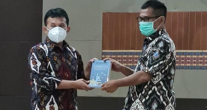 Kemenag telah merilis buku Umrah Indonesia. Foto: Kemenag