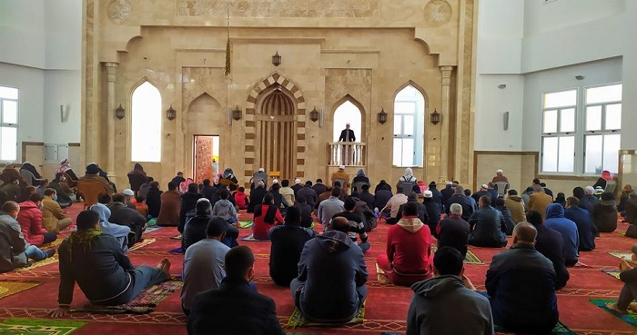 Sejumlah masjid di Gaza kembali gelar shalat jumat. Foto: PIC