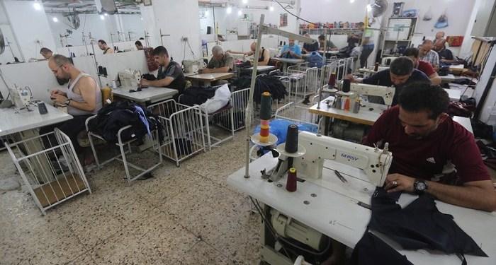 Pekerja Palestina. Foto: WAFA