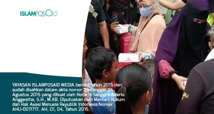 IslamposAid Bantu Korban Banjir Karawang, Jawa Barat 1