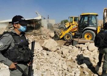 Israel Hancurkan Komunitas Arab Karabsheh di Jericho 1