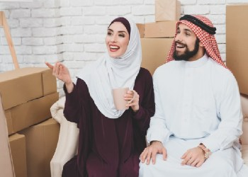 ilustrasi kebahagiaan dalamrumah tangga suami istri pasangan