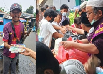 IslamposAid Salurkan Nasi Kotak Jum'at Berkah ke Masjid Nurul Huda dan Dhuafa, di Jakarta 1