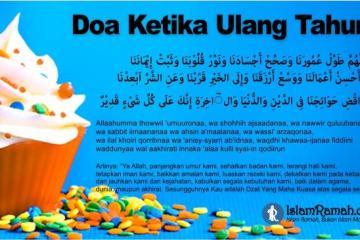 Doa Ketika Ulang Tahun Marked_islamramah.co