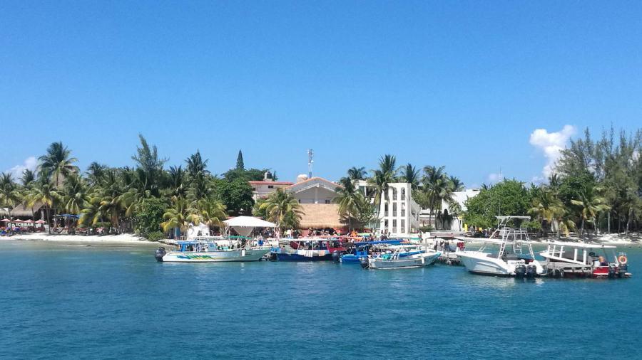 Marina at Isla Mujeres