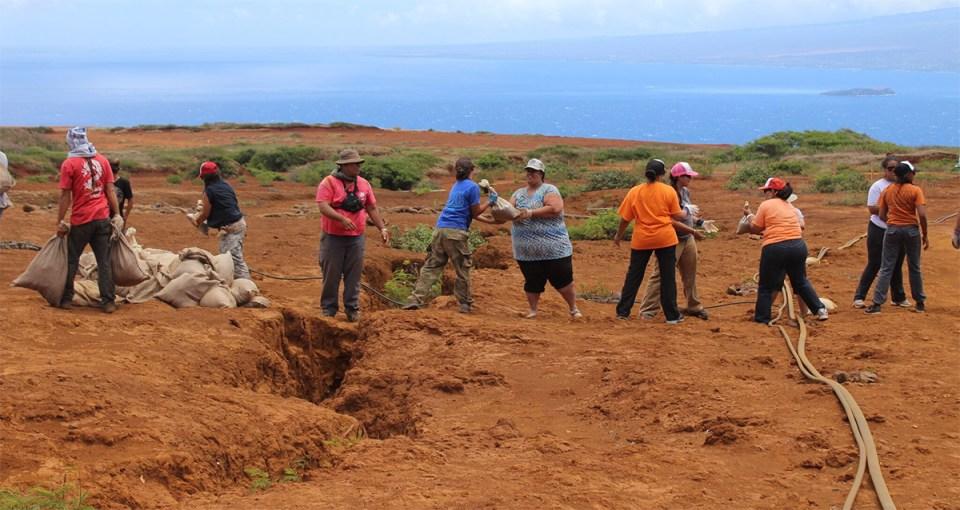 Kaho'olawe island conservation usfws KIRC community