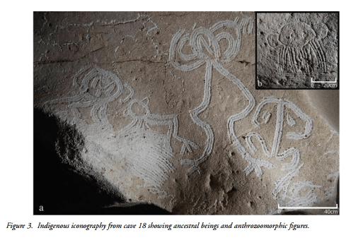 Island Conservation Cave iconography Mona Island 3