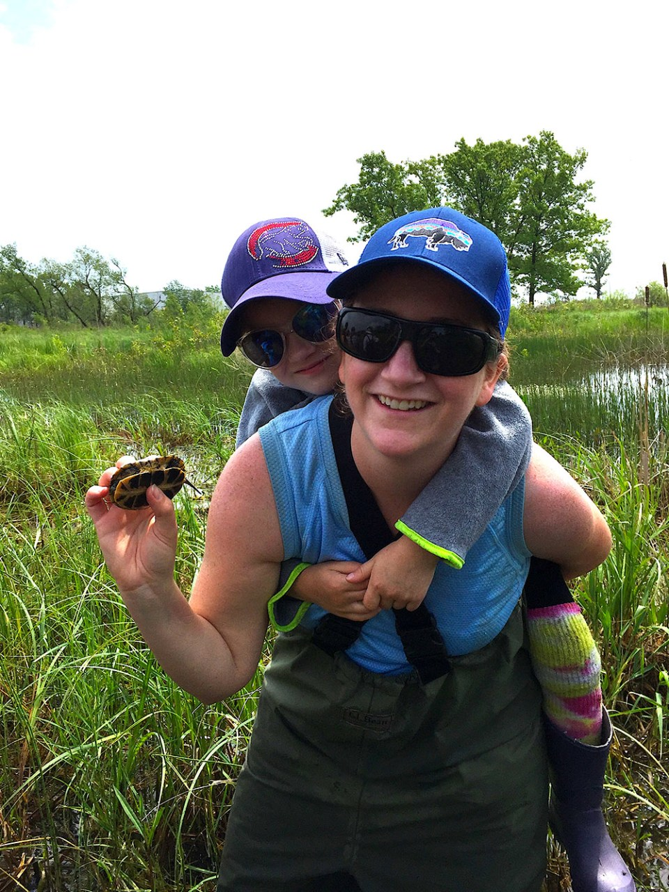island conservation preventing extinctions holly jones with daughter
