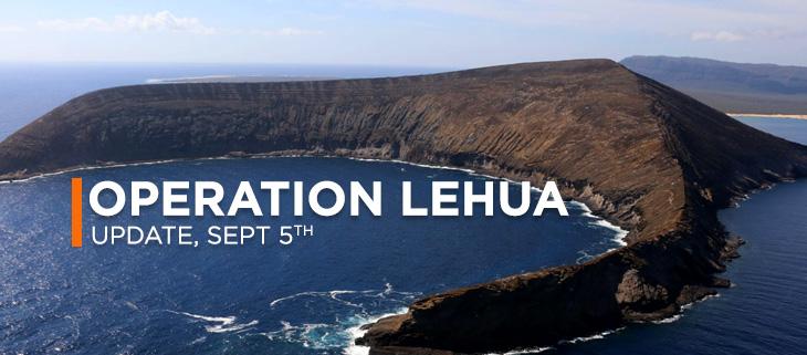 lehua island poison dead fish birds