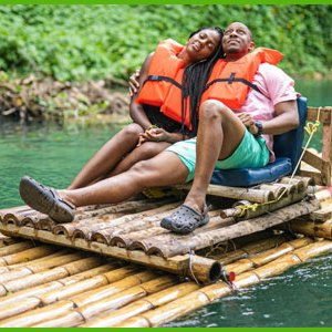 island dream tour lethe river rafting couple