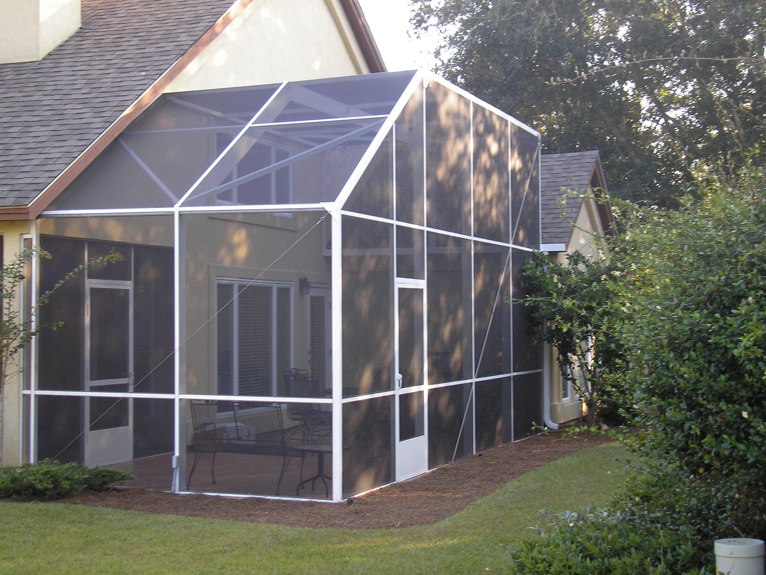 screen sun rooms island enclosures
