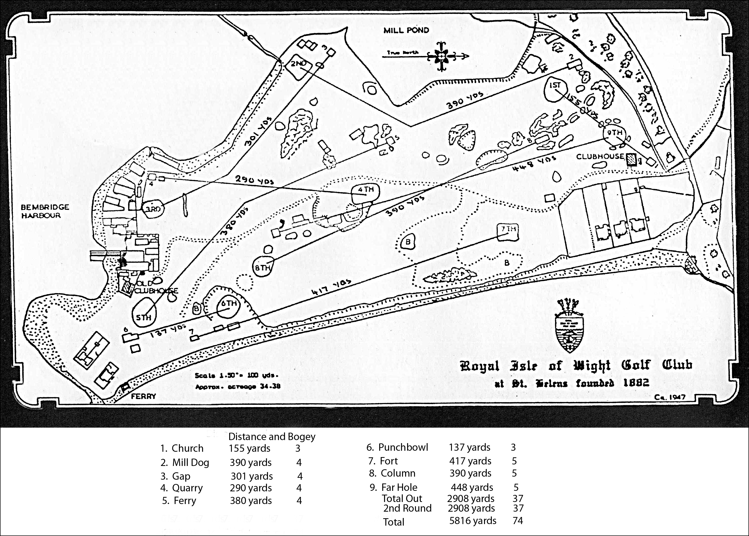 History The Royal Isle Of Wight Golf Club