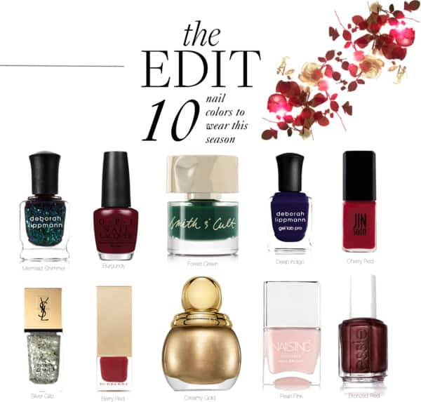 Best Winter Nail Colors for 2016