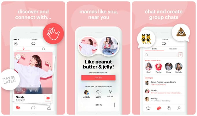 THE NEW TINDER FOR MOMS