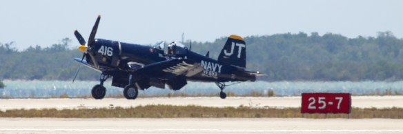The Vought Corsair F4U, WWII workhorse of carrier aviation