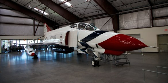 F4 Phantom in USAF Thunderbirds markings