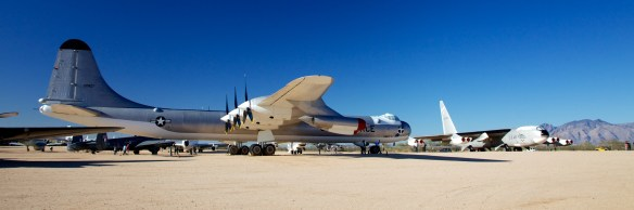 Convair B36J Peacemaker.  The last of the piston engine bombers.