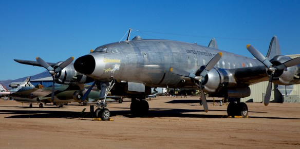 """Lockheed C121A Constellation.  This """"Connie"""" was assigned to President Dwight Eisenhower"""