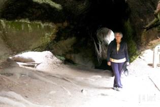 Brenda inside the Fallen Monarch