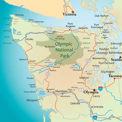 Olympic-Peninsula-map