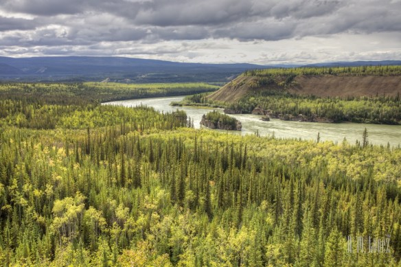 Five Finger Rapids on the Yukon River