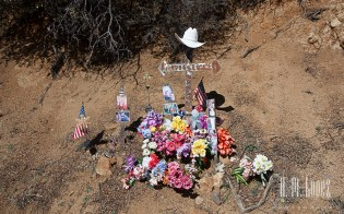 One of many roadside altars in the area
