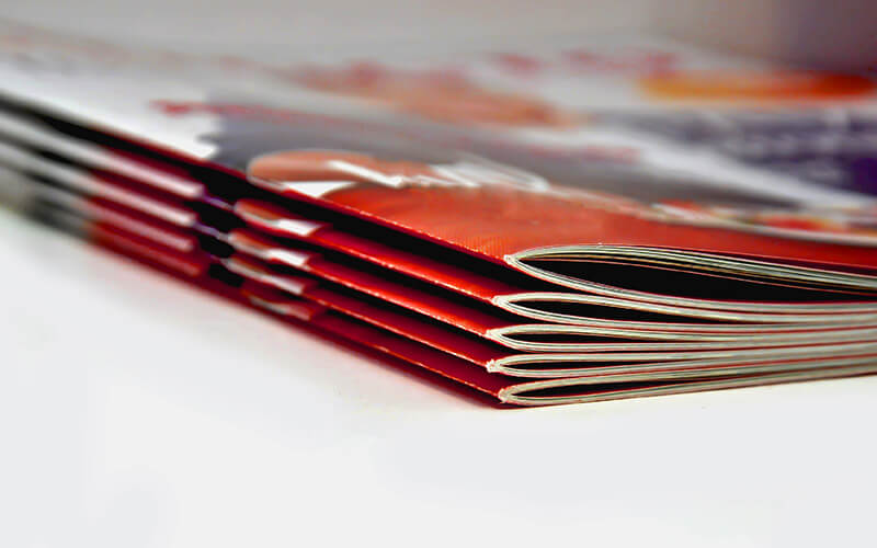 Five Saddle Stitch Booklets
